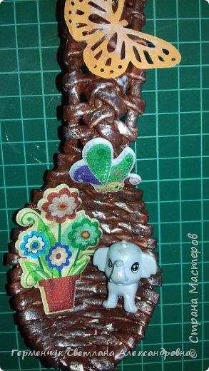 Добрый день ,всем жителям СМ  !!!  Сегодня предлагаю посмотреть   ложки  для  племянника   ( сувенир  к подарку  на день рождения)  фото 13