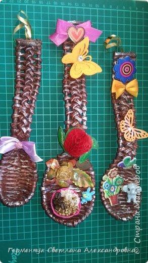 Добрый день ,всем жителям СМ  !!!  Сегодня предлагаю посмотреть   ложки  для  племянника   ( сувенир  к подарку  на день рождения)  фото 1