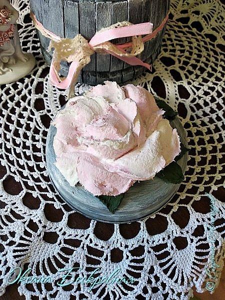 Всем доброго время суток! Сегодня, как обещала, выложу свои розы. Техника скульптурная живопись.  Панно высота 29 см. фото 6