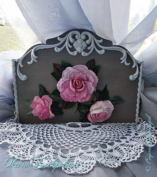 Всем доброго время суток! Сегодня, как обещала, выложу свои розы. Техника скульптурная живопись.  Панно высота 29 см. фото 21