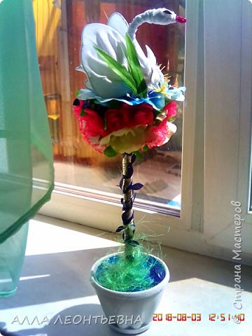 Осталось у меня много искусственных цветов и шляпок...думала пригодятся когда-нибудь...-вот и пришло время! фото 4
