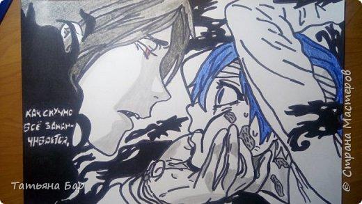"""Здравствуйте жители Страны Мастеров! В последнее время я сильно погрузилась в мир манги. Манга— японские комиксы. И я увлеклась одной из них """"Тёмный дворецкий"""". Автор этой манги Яна Тобосо. Всем советую её к прочтению, хорошо помогает провести время и приподнять настроение. фото 1"""
