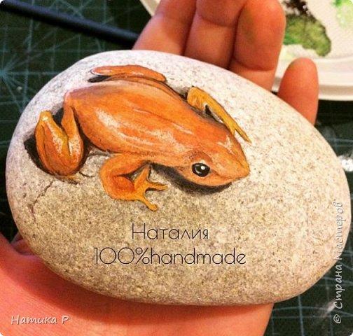 Роспись камней фото 9