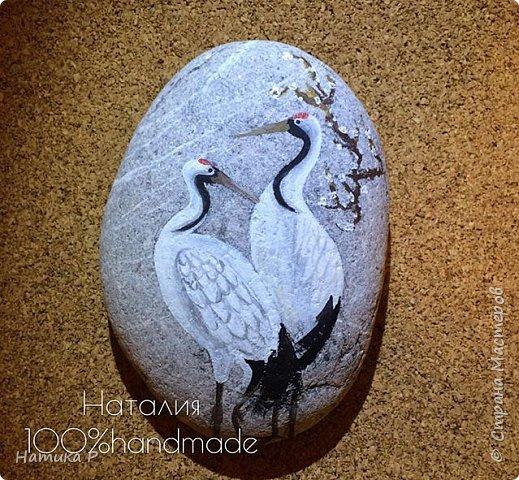 Роспись камней фото 12