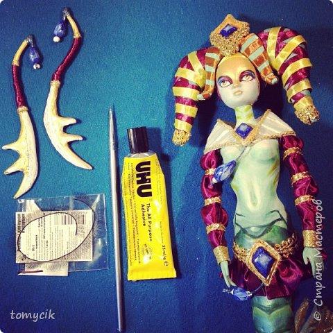 Naga Siren ООАК кукла фото 2