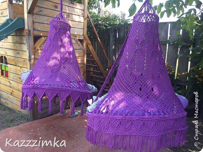 Две девчушечки,одинаковое плетение спинки ,но разная бахрома,какой вариант нравиться вам больше? фото 4