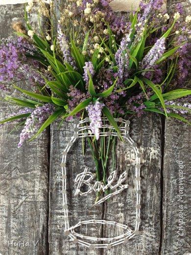 Цветы в банке фото 2