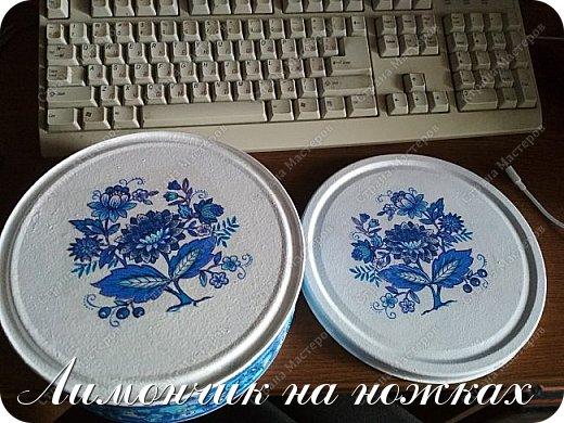 В моей коллекции задекорированных коробочек-шкатулочек пополнение )))))) фото 8