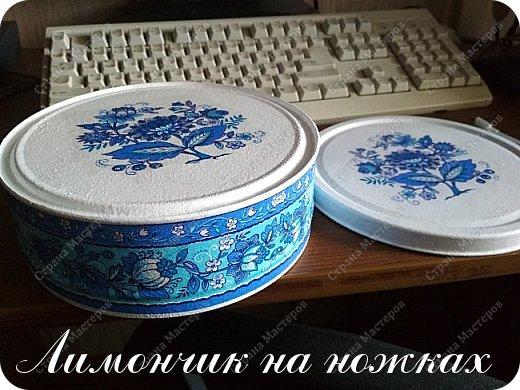 В моей коллекции задекорированных коробочек-шкатулочек пополнение )))))) фото 7
