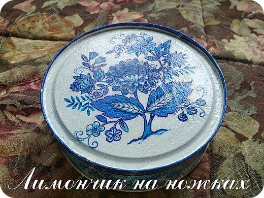 В моей коллекции задекорированных коробочек-шкатулочек пополнение )))))) фото 3