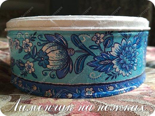 В моей коллекции задекорированных коробочек-шкатулочек пополнение )))))) фото 4
