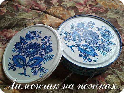 В моей коллекции задекорированных коробочек-шкатулочек пополнение )))))) фото 6