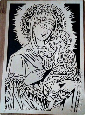 Икона Тихвинской Божьей Матери фото 1