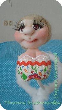 Добрый день, жители СМ! Увидев на просторах интернета такую куклу, решила сделать и себе и вот что получилось. фото 14