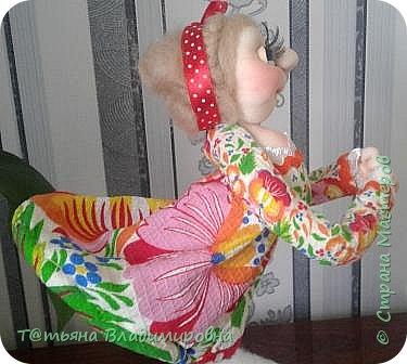 Добрый день, жители СМ! Увидев на просторах интернета такую куклу, решила сделать и себе и вот что получилось. фото 20