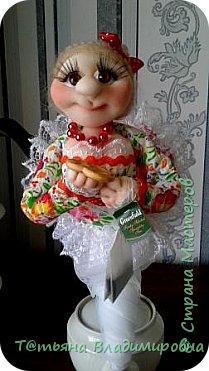 Добрый день, жители СМ! Увидев на просторах интернета такую куклу, решила сделать и себе и вот что получилось. фото 23