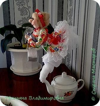 Добрый день, жители СМ! Увидев на просторах интернета такую куклу, решила сделать и себе и вот что получилось. фото 2