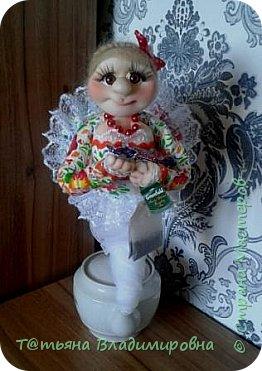 Добрый день, жители СМ! Увидев на просторах интернета такую куклу, решила сделать и себе и вот что получилось. фото 1