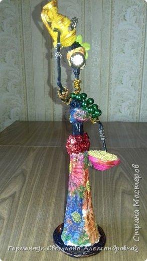 Добрый вечер, жители СМ  !!!  Предлагаю Вашему вниманию сувенирных   куколок- африканок.  Смастерила эти сувениры  своим   родным. фото 23