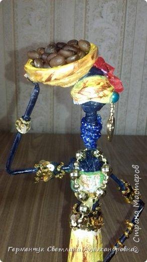 Добрый вечер, жители СМ  !!!  Предлагаю Вашему вниманию сувенирных   куколок- африканок.  Смастерила эти сувениры  своим   родным. фото 36