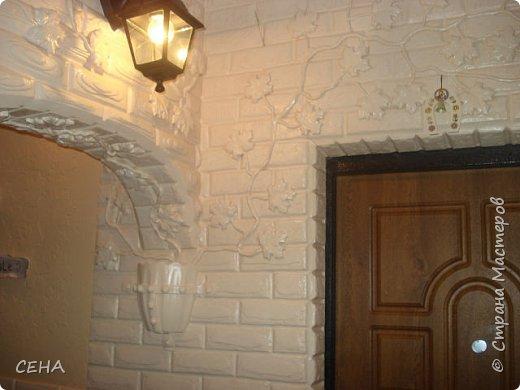 Декор стен(арка резная с элементами лепного декора из гипса) фото 10