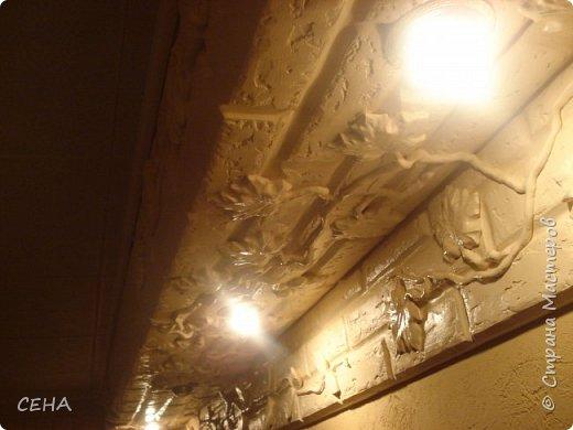 Декор стен(арка резная с элементами лепного декора из гипса) фото 4
