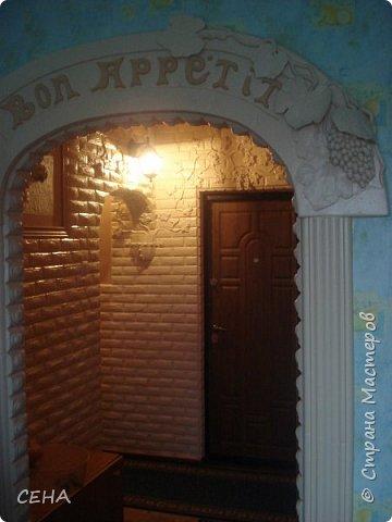 Декор стен(арка резная с элементами лепного декора из гипса) фото 1