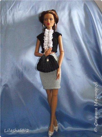 Всем привет! Для всех  любитилей кукол Тоннкр составила МК. MK. Оригинальная сумочка.для кукол Тоннер16 фото 1