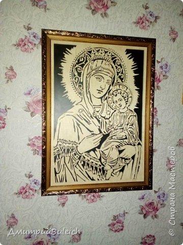 Икона Тихвинской Божьей Матери фото 2