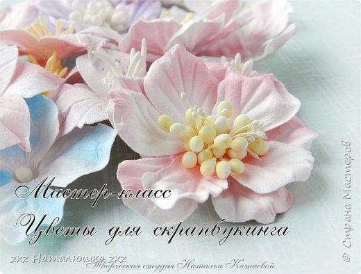 Здравствуйте, Мастерицы! Приглашаю вместе со мной сделать красивые цветочки для скрапбукинга!