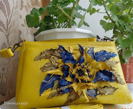 Замечательно смотрится жёлтый цвет и синий....вот и получилось такое оформление.... фото 1