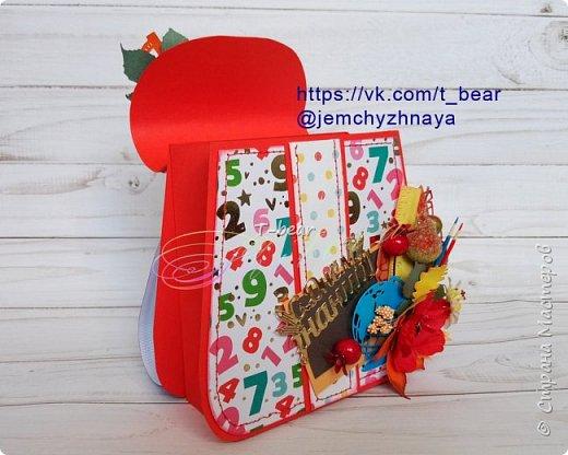 Рада представить вашему вниманию свою новиночку! Рюкзачок! Это опять Sweet Box. Для конфеток, небольших шоколадок и мелкой канцелярии в качестве небольшого подарка к 1 сентября. фото 6