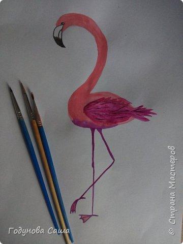 Это моя попытка нарисовать что-то акварелью .Вышло конечно не очень,но думаю продолжать учиться дальше и повышать уровень навыка.