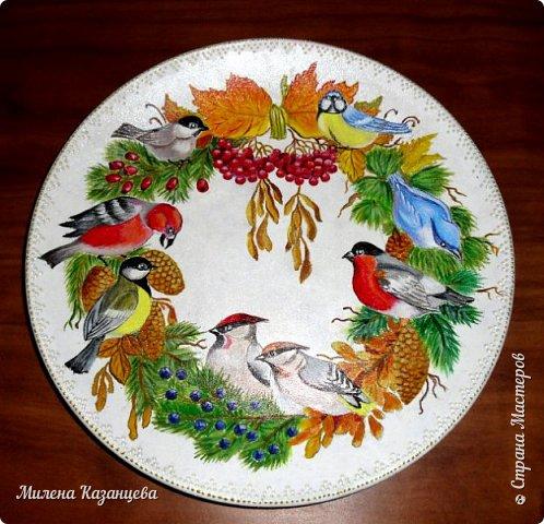 Художественная роспись по стеклу и керамике фото 1