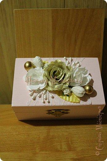 Здравствуйте, жители СМ. Я к вам с очередным свадебным набором. Цвет розовый с золотым. фото 7
