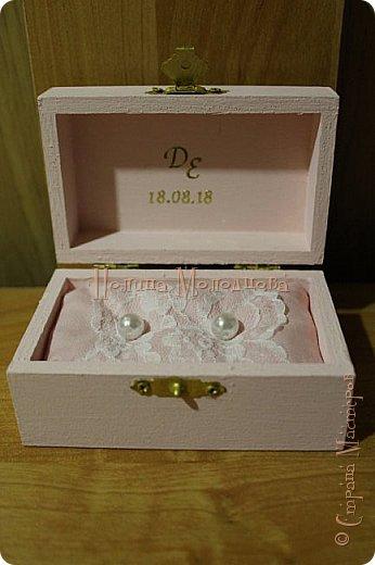 Здравствуйте, жители СМ. Я к вам с очередным свадебным набором. Цвет розовый с золотым. фото 8