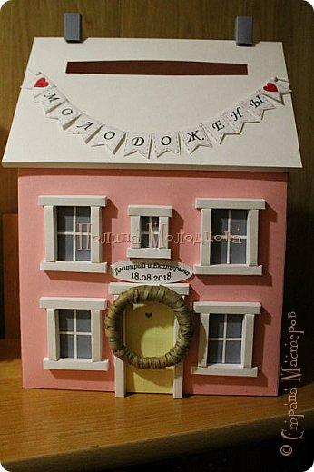 Здравствуйте, жители СМ. Я к вам с очередным свадебным набором. Цвет розовый с золотым. фото 9