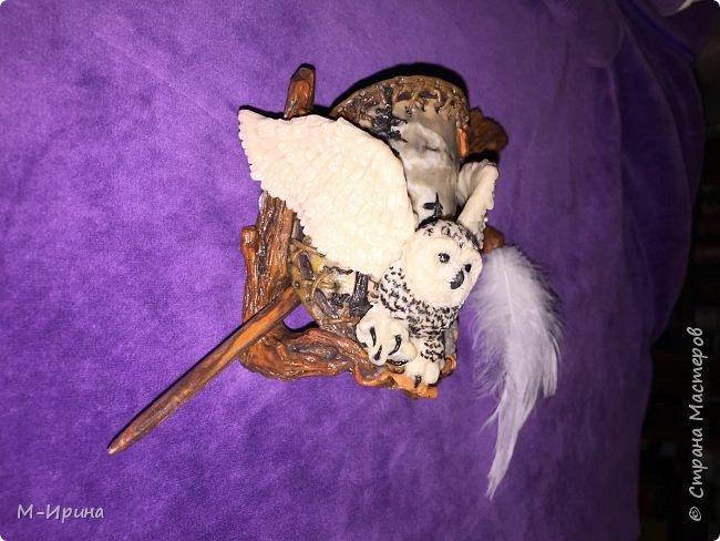 Доброе время суток, всем!  Позвольте поделиться некоторыми работами из полимерной глины. На первом фото заколка для волос с комондором (порода собак-волкадавов-пастухов).  фото 7