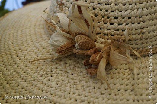 Еще одна шляпка из талаша фото 2