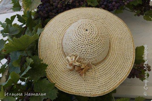 Еще одна шляпка из талаша фото 1