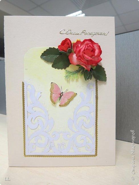 открытки с розочками фото 1