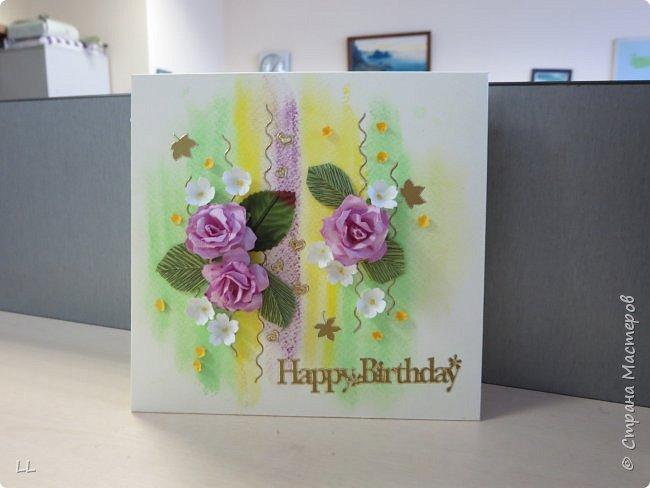 открытки с розочками фото 4