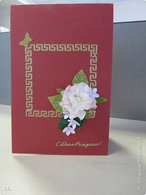 открытки с розочками фото 5