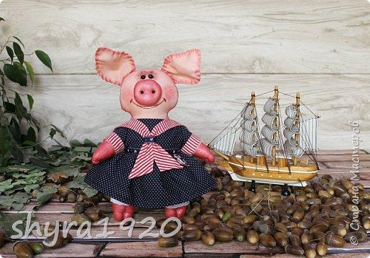 """Сказала борову свинья: """"Очень уж устала я. У меня один каприз - Хочу я на море, в круиз. К солнцу, к пальмам, на юга Уезжаю. Всем пока!""""  Автор: Карина Арнестина  фото 8"""