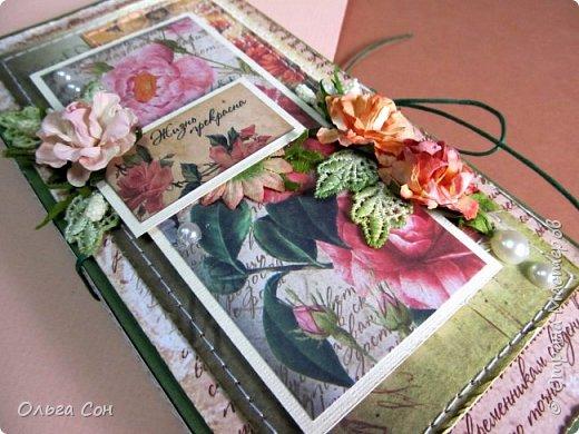 и ещё одна шоколадница летней тематики, тут всё как обычно- цветы, листики, прошивка. на этот раз немного приукрасила полубусинами и листики взяла из шитья (подкрасила акварелью) фото 8