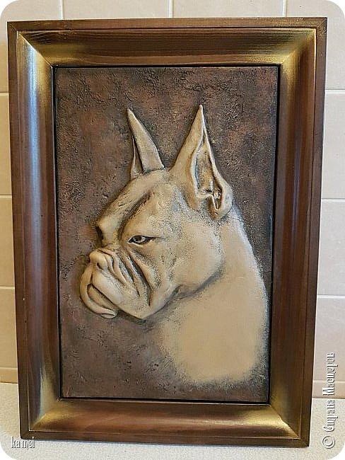 давно ничего не выкладывала , кое что скопилось    Портрет любимой собаки. фото 1