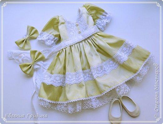 Новое платье для куклы 45-55 см!  фото 11