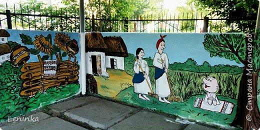 """В этом году веранду в садике решила разукрасить по мотивам мультфильма """"Жил был пес"""" Вот что у меня вышло. фото 3"""