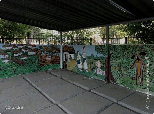 """В этом году веранду в садике решила разукрасить по мотивам мультфильма """"Жил был пес"""" Вот что у меня вышло. фото 9"""