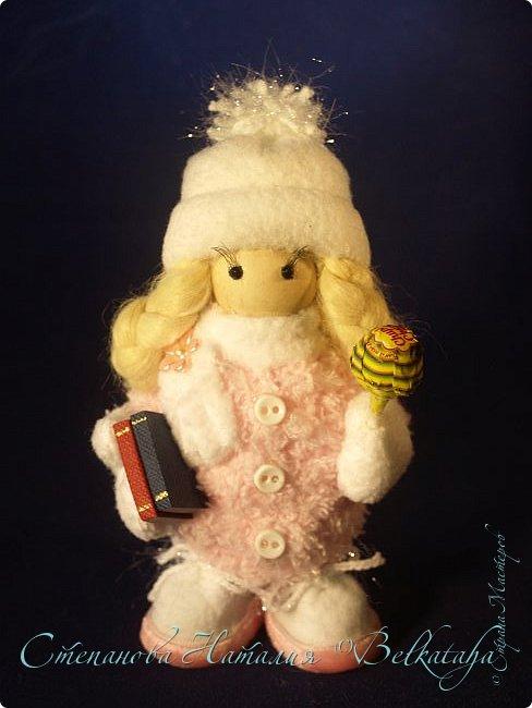 Доброго дня! Сделала ещё трёх куколок, пожалуй, остановлюсь на этом. Приглашаю посмотреть. фото 4